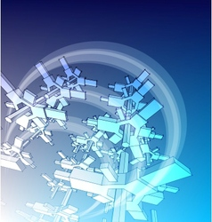 sketch of an abstract architecture vector image
