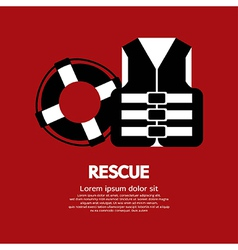 Rescue Item vector image
