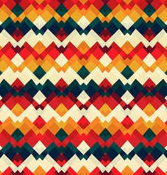 Vintage bright seamless pattern vector