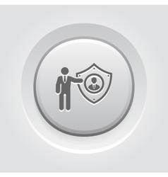 Personal protection icon vector