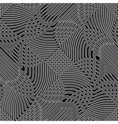 grid geometric ornament vector image