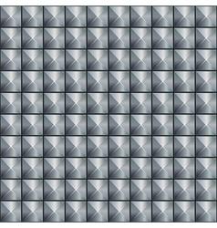 Abstract metallic texture wit metal pins vector