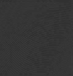 abstract black waves and lines pattern vector image