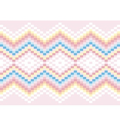 Bright carpet in pastel colors vector