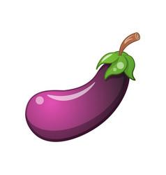 eggplant icon cartoon vector image vector image