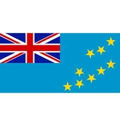 Flag of Tuvalu vector image