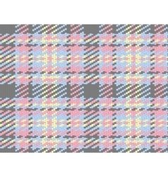 Seamless checked material pattern tartan and vector