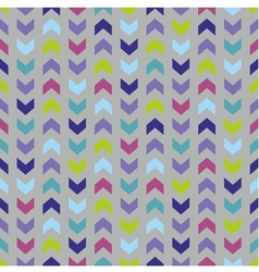 Wrapping chevron tile colorful pattern background vector image vector image