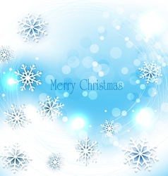 holiday christmas background vector image