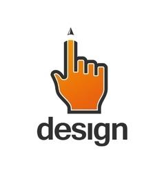 Web design template logo vector