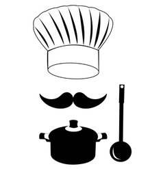 Headdress cooks vector