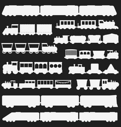 toy train black and white vector image