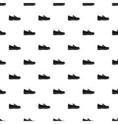 Loafer shoe pattern simple style vector