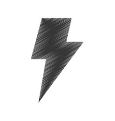 Thunder ray isolated icon vector