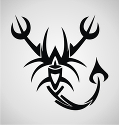 Scorpion tribal vector