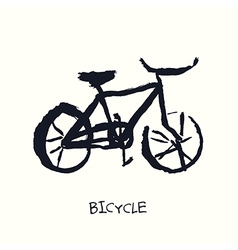 Bicycle hand drawn vector