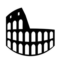 coliseum vector image