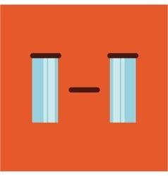 face emoticons design vector image vector image