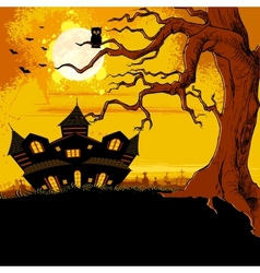 Haunted House vector image vector image
