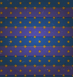 Aged seamless pattern with stars vector