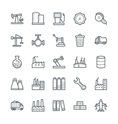 Industrial cool icons 3 vector