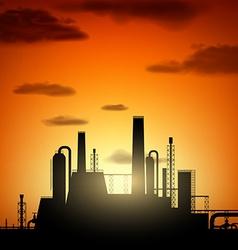 Industrial factory stock vector