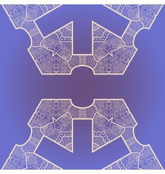 Oriental islamic pattern vector