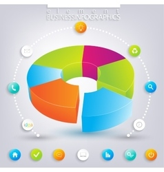Modern infographic design  can be used for vector