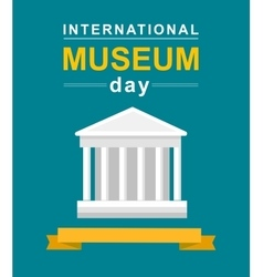 International museum day vector