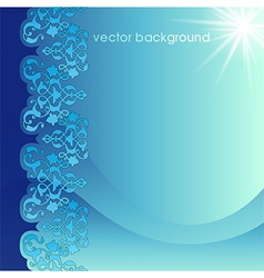 Decorative cover template seven vector