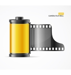 Camera Film Roll Cartrige vector image