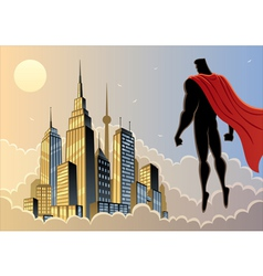 Superhero Watch 5 vector image vector image