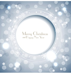 shiny holiday background vector image