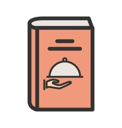 Recipes book i vector