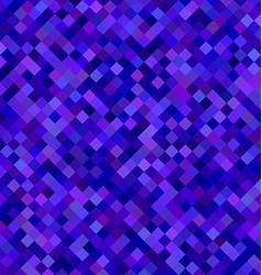 Dark blue square pattern background design vector