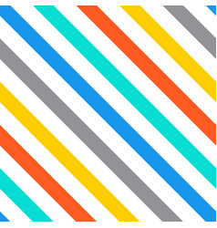 diagonal stripes seamless pattern vector image vector image