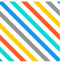 diagonal stripes seamless pattern vector image