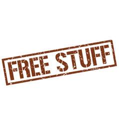 Free stuff stamp vector
