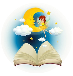 Fairy Book vector image