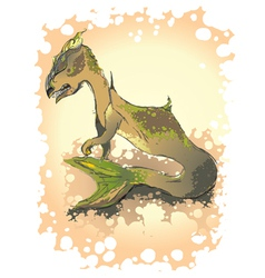 dragon2 vector image