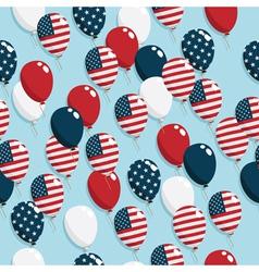 American balloons vector