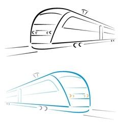 Train symbol vector