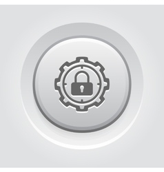 Protection target icon vector