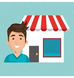 Business internet online ecommerce buy vector