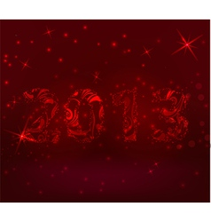 2013 red vector image