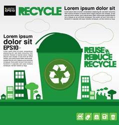 Recycle concept eps10 vector