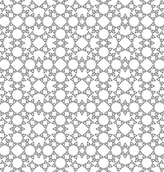 Delicate ethnic seamless pattern vector