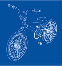 bicycle bmx vector image