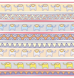 Seamless elephant pattern background3 vector
