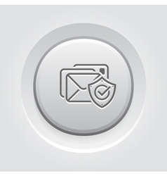 E-mail protection icon vector